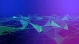 Geometric Triangles 3D Fractal Animation HD Video