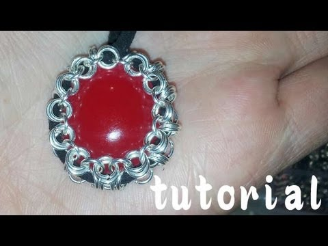 Come Incastonare Cabochon: Tutorial Chainmail