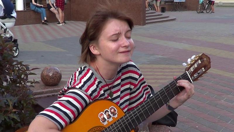 КРУГИ НА ВОДЕ! классный кавер под гитару! Music! Guitar!