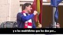 Thibaut Courtois insulta a los aficionados del Real Madrid | Celebración Copa del Rey 2013