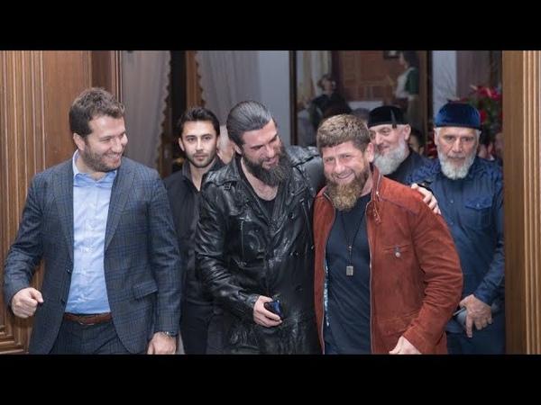 Кадыров Посетил место съёмок всемирно известного турецкого сериала Воскресший Эртугрул