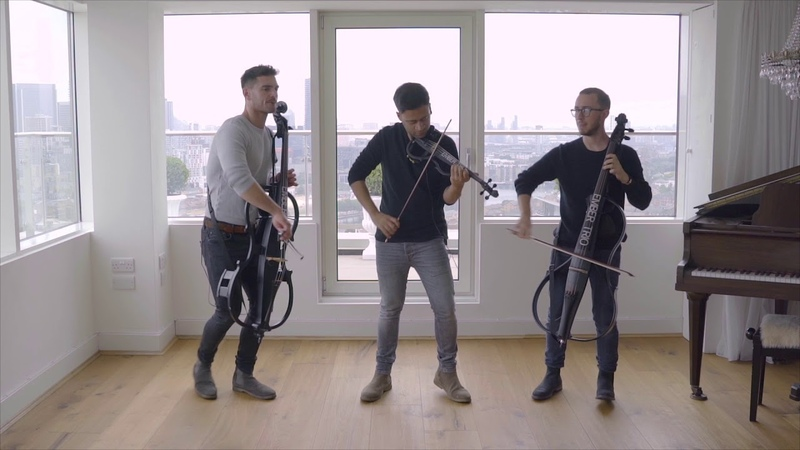 Scared To Be Lonely - Martin Garrix Dua Lipa Violin and Cello Cover Ember Trio