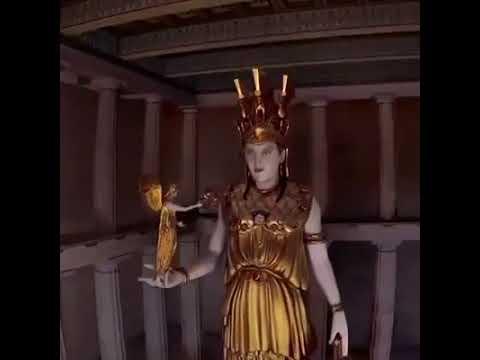 Ancient Acropolis 3D presentation Τρισδιάστατη αναπαράσταση της Ακρόπολης