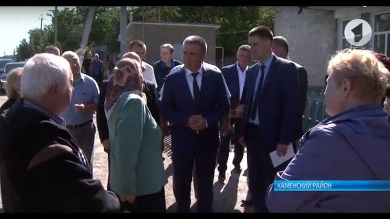 Президент в Каменке: капвложения для района