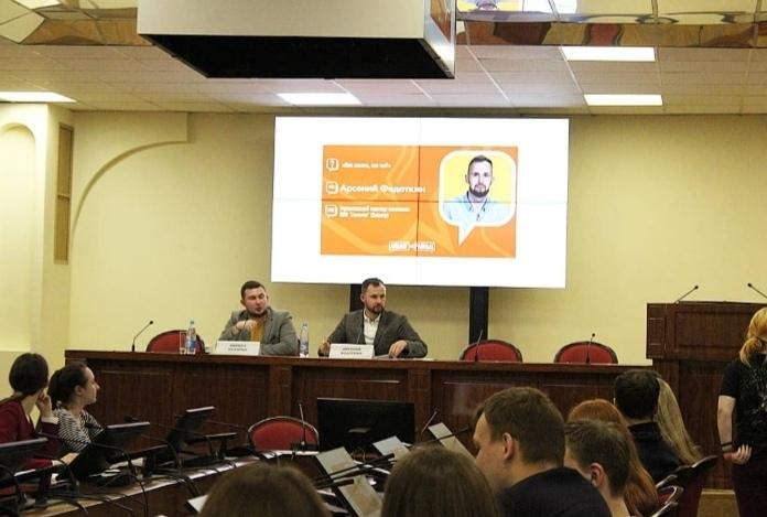 Встреча с Арсением Федоткиным в рамках проекта