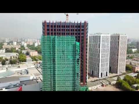 Динамика строительства ЖК Водный 30.06.18