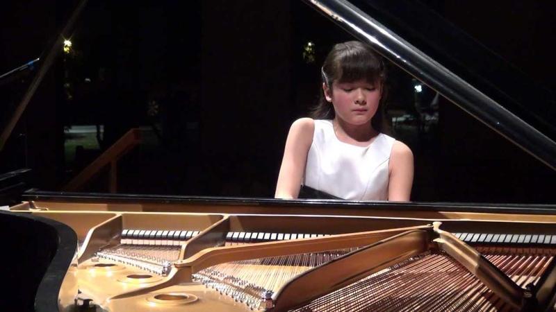 Umi Garrett 12yr Debussy Clair de Lune for encore in Houston recital