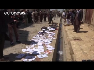 23 APR Afghanistan dozens killed and hurt in Kabul voter centre blast  Euronews