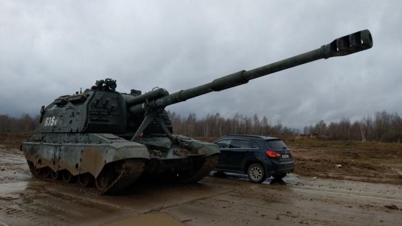 2С19 «Мста-С» - российская 152-мм дивизионная самоходная гаубица