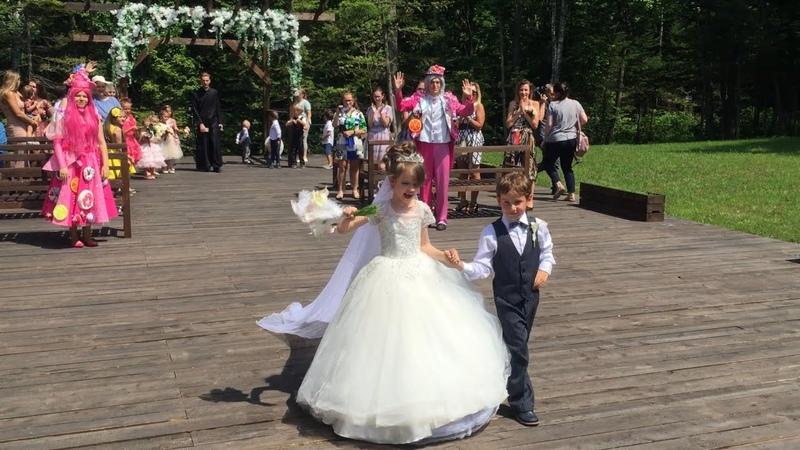 Супер Софи вышла замуж в 6 лет Самая молодая Свадьба в России (Полная версия)