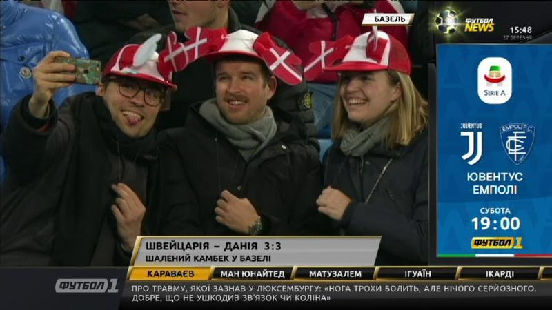 Футбол NEWS від 27.03.2019 (1540)   Сачко залишив Ворсклу, огляд матчів відбору ЄВРО-2020
