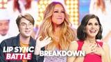 Lip Sync Battle Breakdown Mariah Carey Tribute Darren Criss vs. Jermaine Dupri
