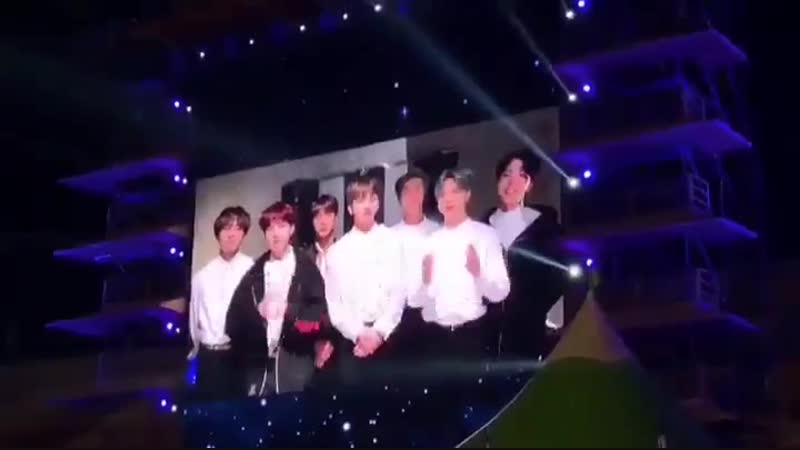 Iksan National Exhibition Closing Ceremony room carbon year!! BTS Messager 1 - -