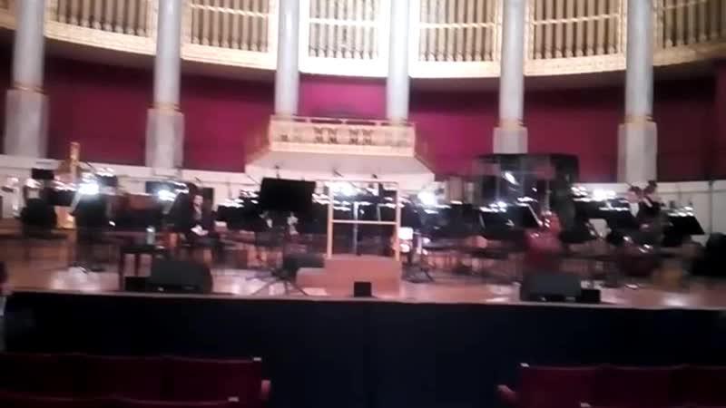 Кончита и Венский симфонический оркестр.Концерт в Венском КонцертХаусе 20.10.18.