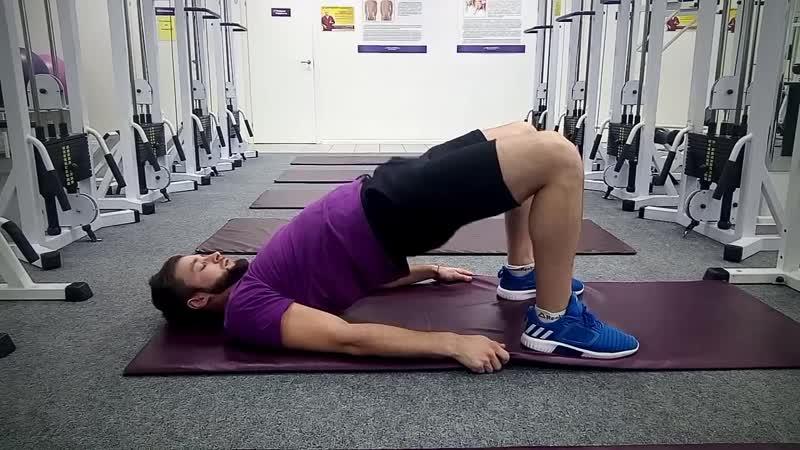 Комплекс обезболивающих упражнений