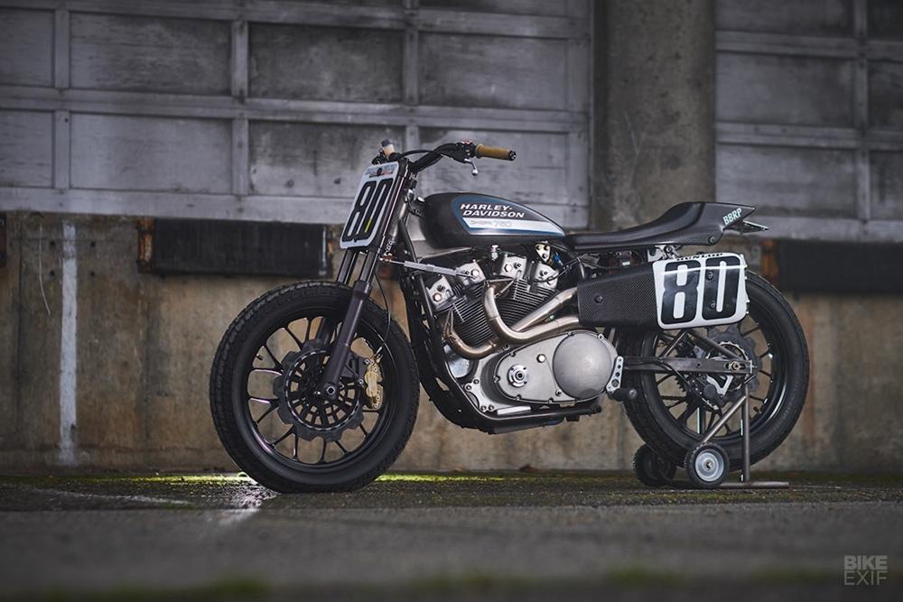 Брэд Питерсон: стрит-трекер Harley-Davidson XR750