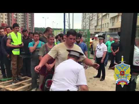 Полицейские МУ МВД России Балашихинское провели оперативно профилактическое мероприятие Мигрант