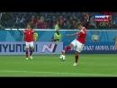 Египтянин забил в свои ворота сразу после начала второго тайма. Кто заходил в египетскую раздевалку в перерыве Россия вперёд!⚽