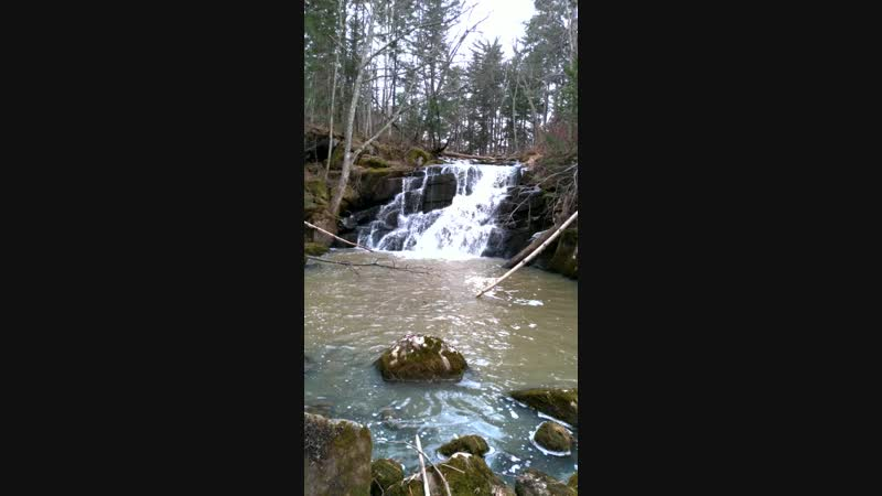 Водопад (примерно 20 км от с. Ильмаковка Анучинского р-на)