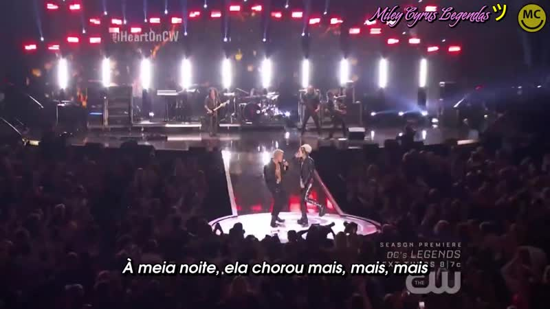 Billy Idol - Rebel Yell ft. Miley Cyrus (Live On IHeartRadio Music Festival)