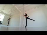 Angelina Gelios - Exotic pole dance (Insane clown posse - Haunted bumps)