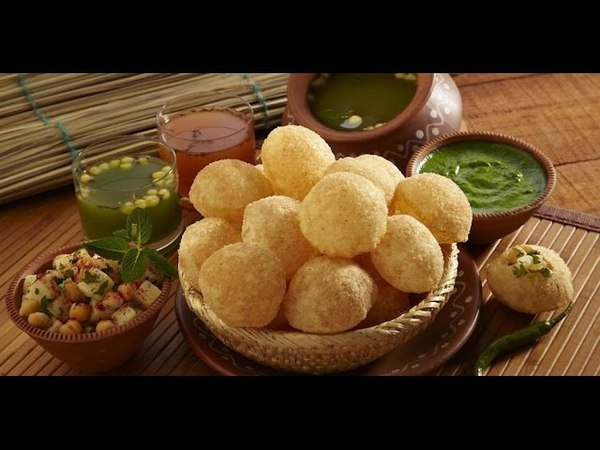 Easy to make pani puri at home With 1.3 Million Views