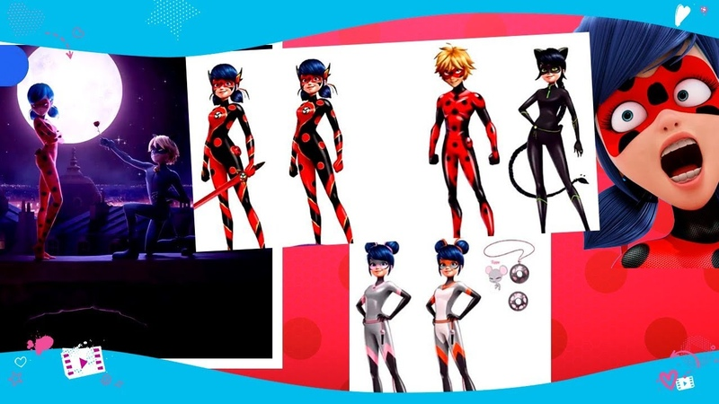 NEWS! Cat Noir and Ladybug season 3 transformations, combined transformations and more