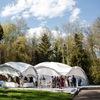 Свадебный шатер в Москве (Пятницкое шоссе)