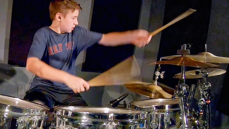 SEVENTEEN WINGER age 12 Drum Cover by Avery Drummer