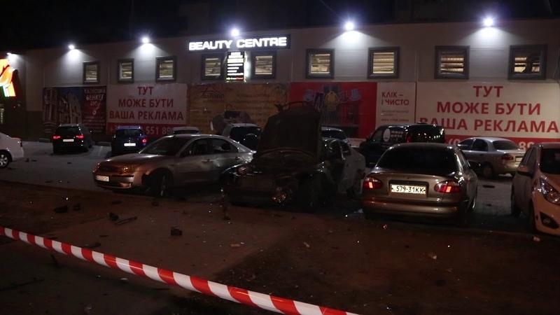 В Киеве на парковке Ашана взорвался Chevrolet: мужчине оторвало часть руки