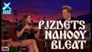 Pizdets Nahooi Bleat Cyka Blyat I Elizabeth Olsen Teaches Conan Russian Curse Words