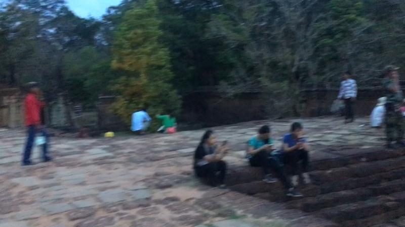 Камбоджийский НГ в Ангкор