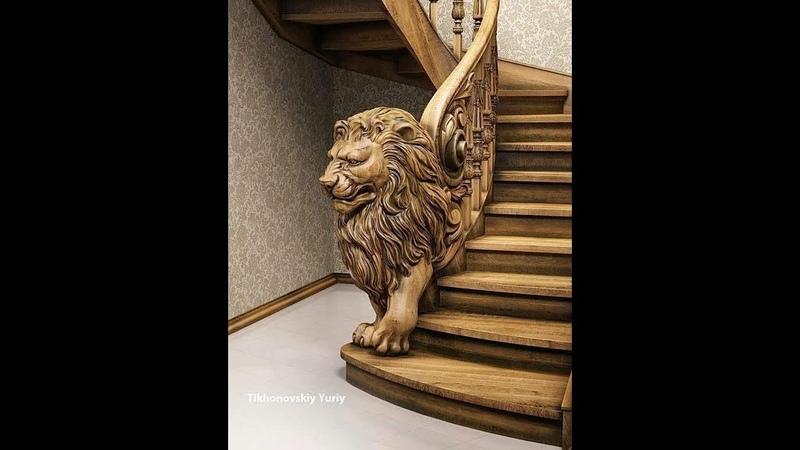 Cách Chế tạo cầu thang gỗ Tuyệt đỉnh