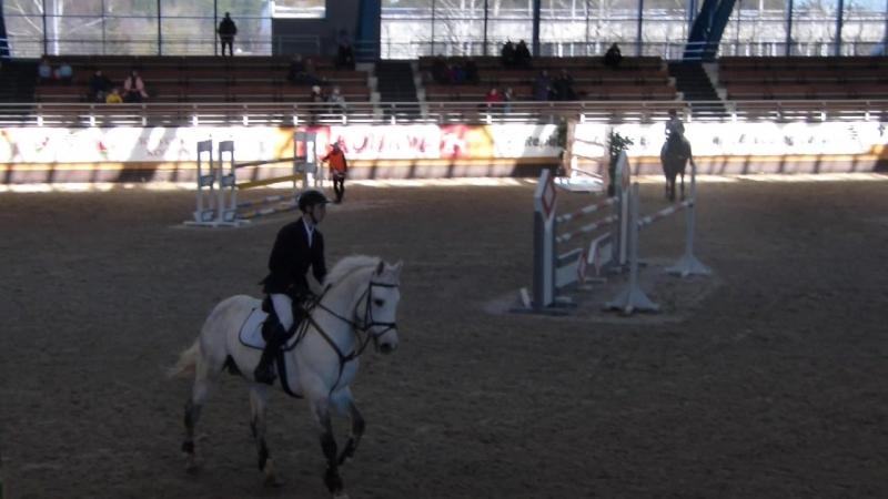 Алексей Сацук на лошади Каскад. Высота 135 см.