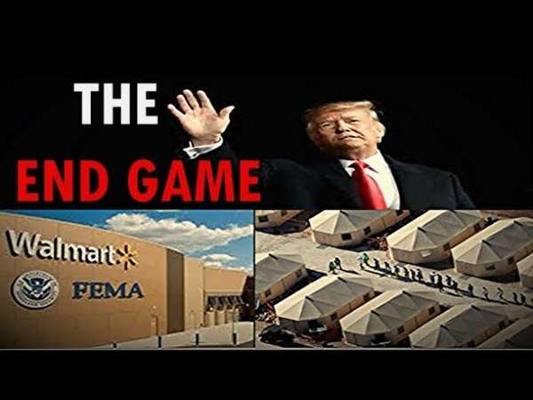 This is The End Game Trump is Part of Their Plan Martial Law FEMA CAMPS You're next