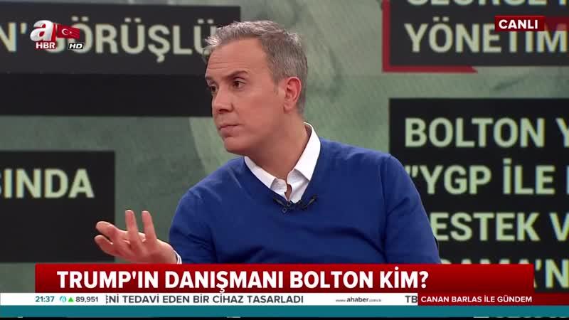 Canan Barlas ile Gündem 07.01.2019- Ahaber