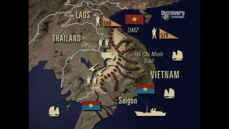 Полная история войны во Вьетнаме 1964-1973 годы часть 1