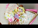Moño de vinil combinado - Rapunzel - Princesas Disney