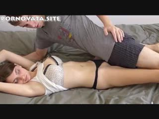 A worried brother fucked his sister, saw his sleeping sister and could not resist