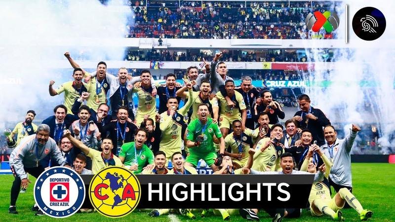 Mexico I ¡América CAMPEÓN! I Cruz Azul vs América 0-2 | Resumen Goles | Liga MX - Final - Vuelta | 2018