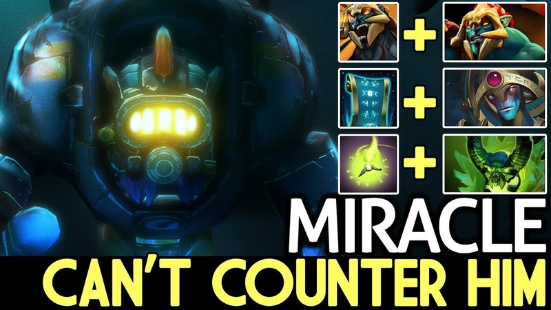 Miracle- [Tinker] OMG! Can't Counter Him 7.17 Dota 2