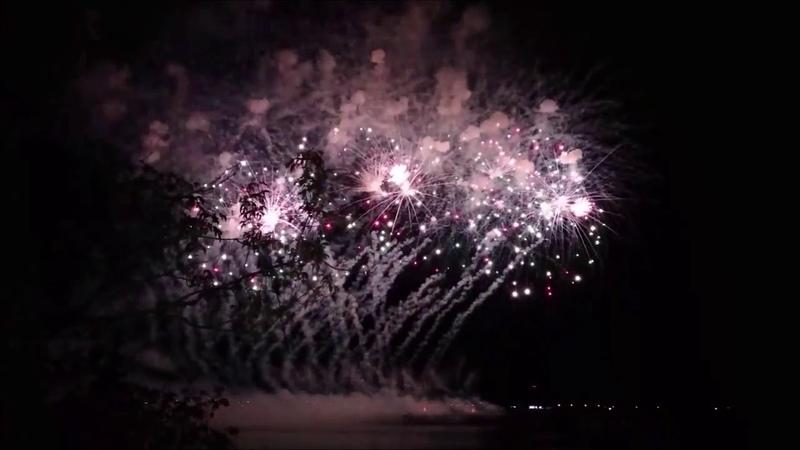 13 фестиваль фейерверков Большая Волга, г.Дубна, 2018 г.Салют Поморья (Северодвинск).