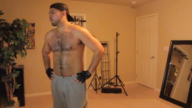 Don Stone Working Out Chest u0026 Back P90X Nice Sweaty u0026[HD,1280x720, Mp4]