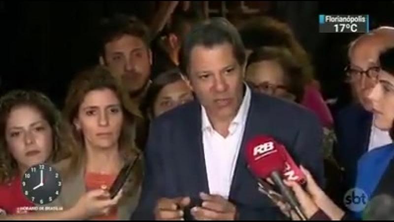 Proposta do Haddad, candidato do PT...