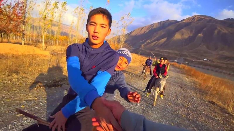 Пешком 350км Ош Бишкек ч з горы Часть 3 Токтогульское в е Сары Камыш Кыргызстан 2018