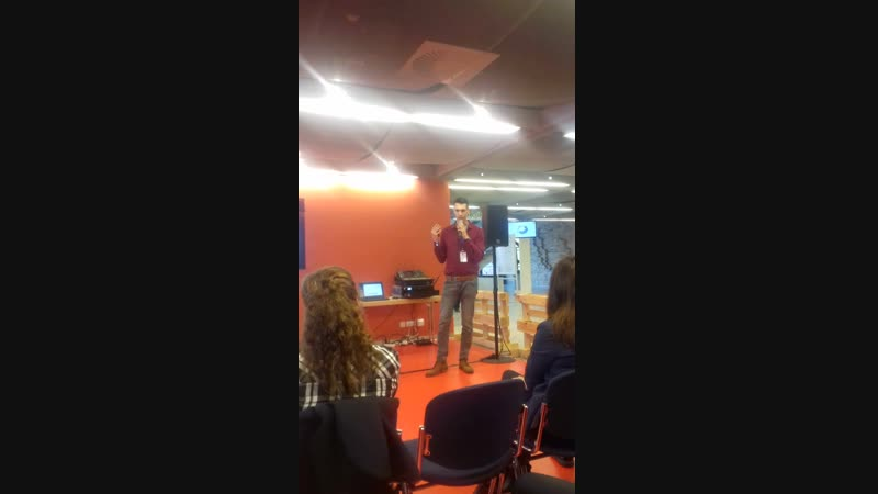 Startup-Pitch in Rostock (Germany)