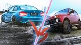 НИВА против BMW M2 - ДРИФТ на БЕЗДОРОЖЬЕ. ГОНКА на 100.000