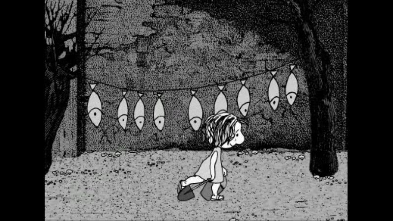 Анимационный фильм Ветер вдоль берега 2004 реж Иван Максимов психоделика арт хаус сюрреализм