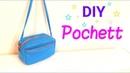 【DIY】レクタングル * ポシェットの作り方*Rectangle Mini Bag Tutorial**