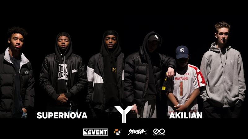 Young Battle 2k18 | Final 3vs3 Hip Hop | Supernova vs Akilian